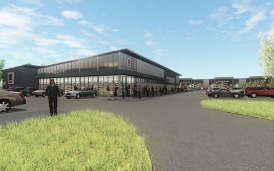 Aldi exchanges contracts at Stane Retail Park