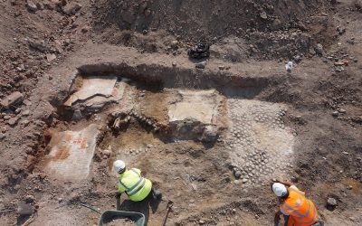 Archaeologists unearth finds in Ipswich