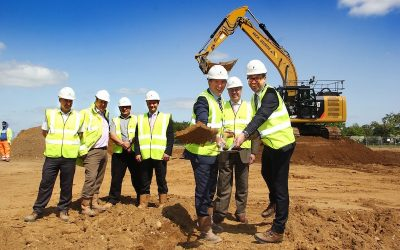 Power tools firm Festool celebrates as ground broken on new Suffolk HQ