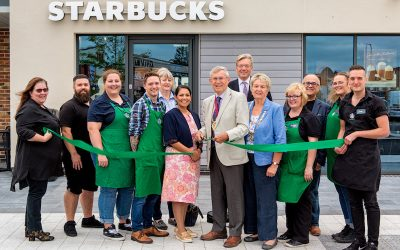 Starbucks opens at Stane Leisure Park