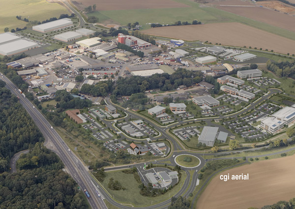 Planning Inspector allows appeal for new BP Petrol Filling station and M&S Simply Food at Suffolk Business Park, Bury St Edmunds.