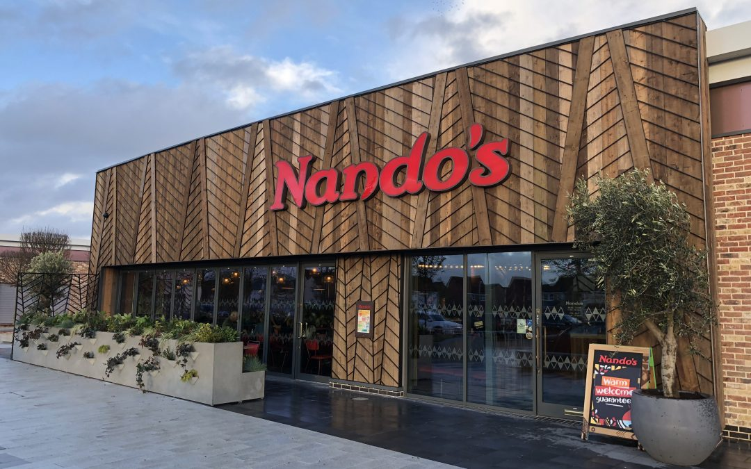 Nando's opens at Stane Leisure Park