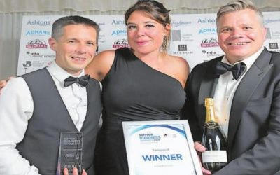 Timberwolf crowned as winners of Large Business at the Suffolk Business Awards