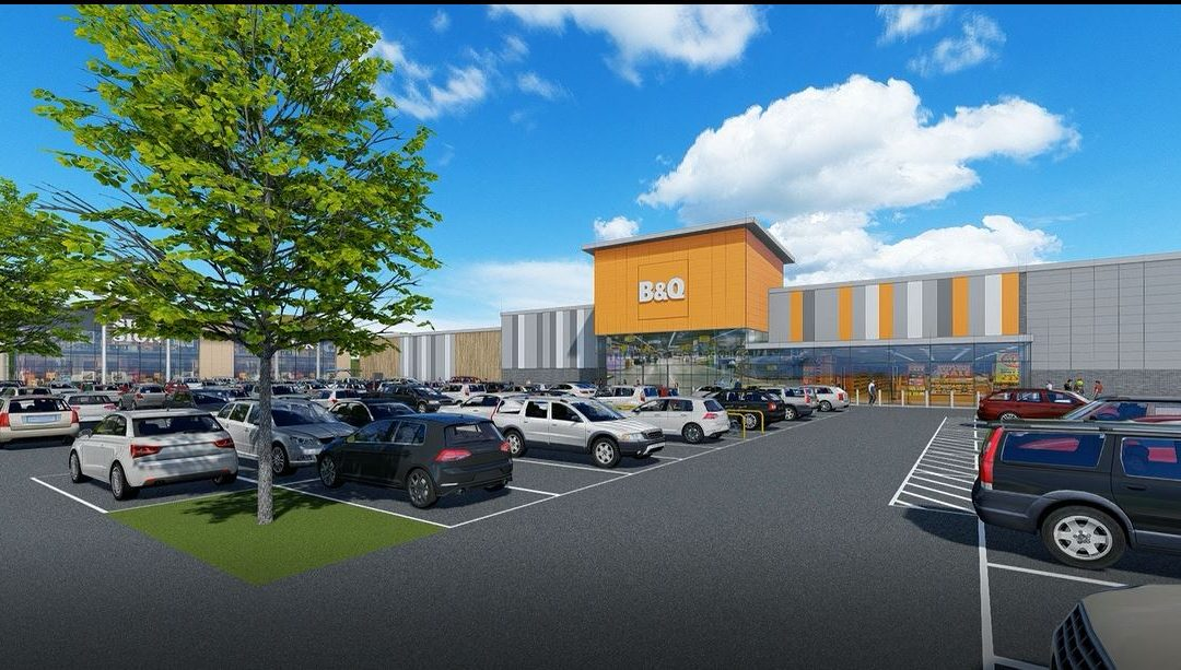 Work commences at Stane Retail Park, Colchester