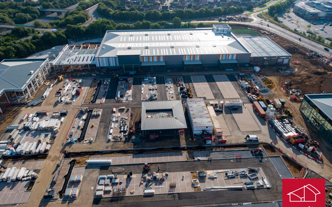 B&Q start their fit out works at Stane Retail Park, Colchester